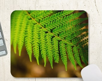 Fern Mousepad - Office Decor - Woodland Decor Mouse Pad