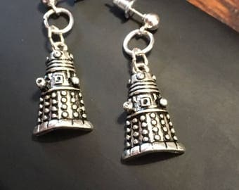 Dalek - Dr. Who Exterminate Earrings