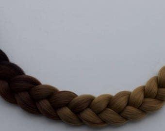 3 tone Synthetic Jumbo Braiding Hair