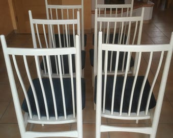 White Chairs, chair
