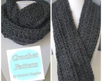 Scarf pattern, Infinity scarf pattern