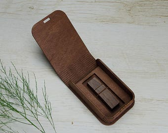 10 USB drive wood box with bending lid