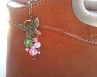 Neon Butterfly handbag