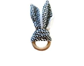 game: Bunny teething rattle