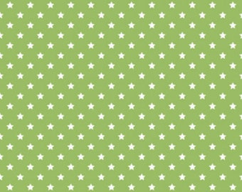 FREE GIFT with Purchase - Ella Blue Mini Stars/Green/Cotton/Fabric/Quilting/Sewing