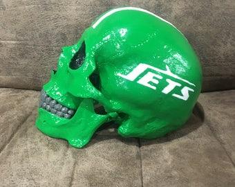 NY Jets Skull