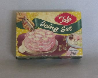 Vintage 1950s Tala Icing Set no. 1705
