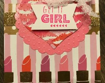 Get it Girl Greeting Card