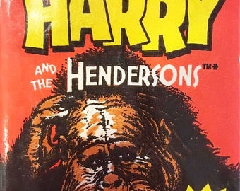 1987 Harry and the Hendersons - Wax Pack of Trading Cards - Topps Trading Cards - Unopened - Excellent Condition - Collectible 80s Nostalgia