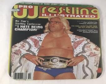 Ric Flair PWI Cover NWA Belt custom Mouse Pad