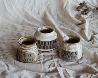 Witch Craft Canister Set