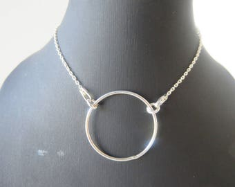 The Choker necklace in sterling silver 925/1000