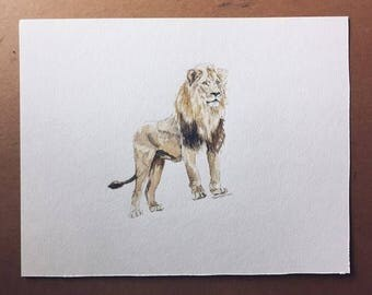 """11 x 14"""" Made to Order Watercolor 