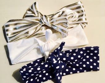 Knotted Headbands Set of 3