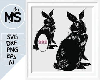 70% OFF, Easter Bunny SVG, Bunny svg files, Bunny Split monogram SVG, Circle monogram frames, Designer Edition and Cricut Design Space