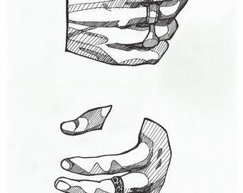Harry Styles *Holding* - Art Print