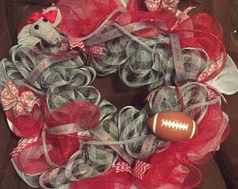 Alabama Wreath ROLL TIDE
