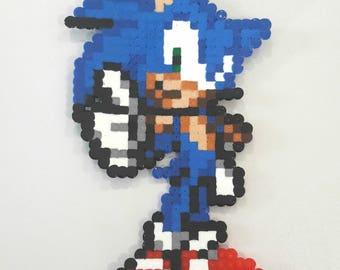 Sonic perler beads