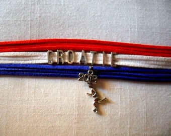 Global 2018 bracelet Croatia football World Cup