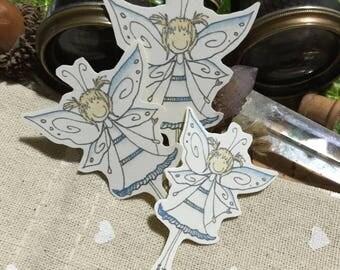 Scrapbook Embellishment Stickers - Elise - Springtime Fairy