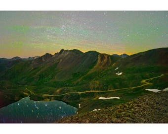 Starlit Lake - Colorado landscape photography by Harry Durgin