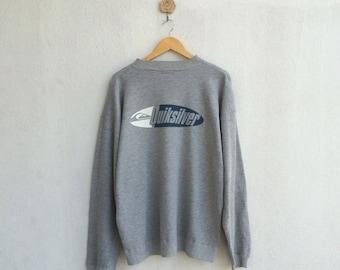 Vintage Quiksilver Sweatshirt Spellout