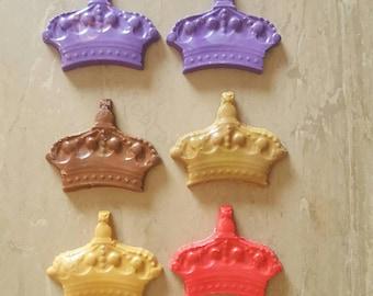 Princess crown wax crayon shapes. party bag items, party bag gifts