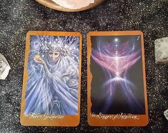 Psychic Fairy/Tarot Card Reading, Via PDF, Clairvoyance, 1 Question within 24Hr
