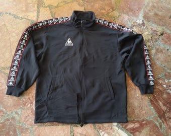 Vintage le coq sportif stripe logo Jacket
