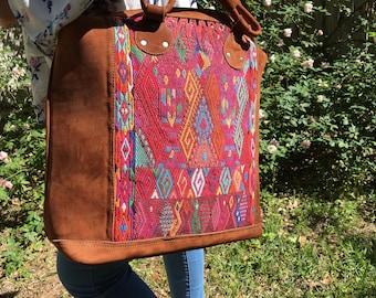 Handmade Guatemalan Overnight Bag