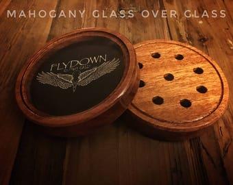 Mahogany Glass n' Glass