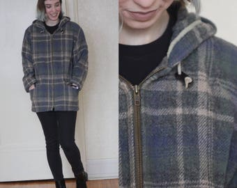 vintage wool coat // wool jacket // Woolrich