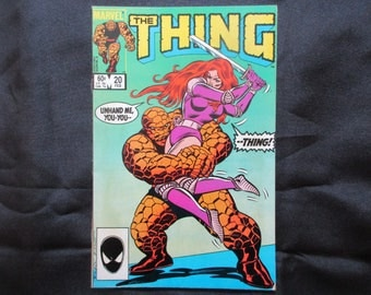 The Thing #20 Marvel Comics 1985