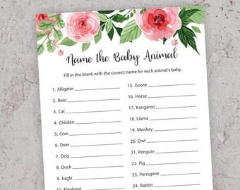 Animal Baby Shower | Etsy