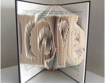 Love Book Fold