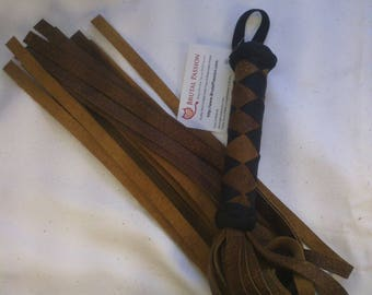 Heavy Chap Leather BDSM Flogger BN