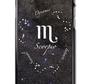 Scorpio Zodiac Sign iPhone Case Cover