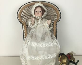 Antique German Bisque Head Doll - Kammer&Reinhardt Doll