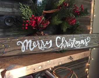 Merry Christmas Wall Decor sign