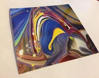 "One 4x4 Print ""The Melting Chrysalis"""