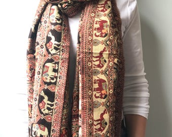 Indian Scarf - Rustic
