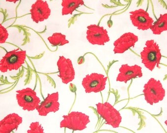 Poppy by Fabric Traditions Patty Reed Red