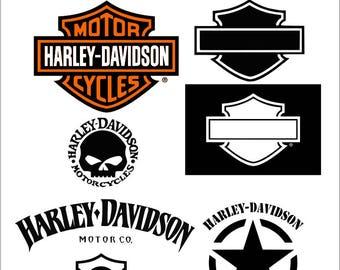 Motorcycle svg Harley Davidson svg monogram svg svg files Monogram svg eps png dxf t shirt design bike svg digital cut file svg