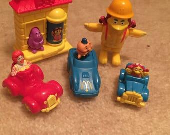 Vintage McDonald Toys