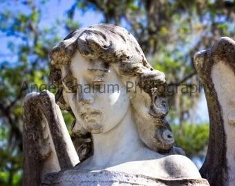 Angel Statue Digital Photo-Digital Photography-Angel Statue-Angel-Photography