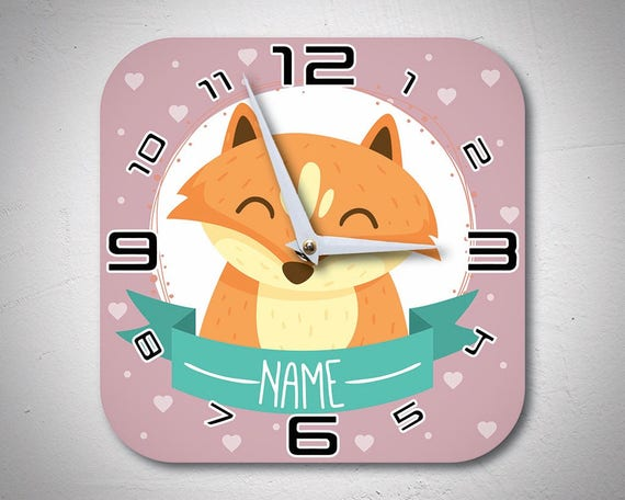 Personalized Clock For Pre-Teens