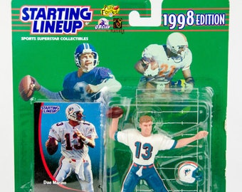 Starting Lineup 1998 NFL Dan Marino Action Figure Miami Dolphins