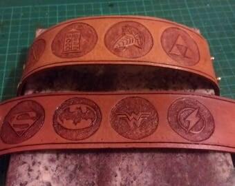 CUSTOM Leather Wrist Cuff