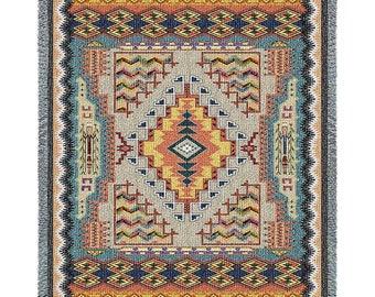 Southwest Turquoise Blanket