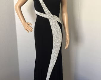 Vintage 1990's Mike Benet formal dress